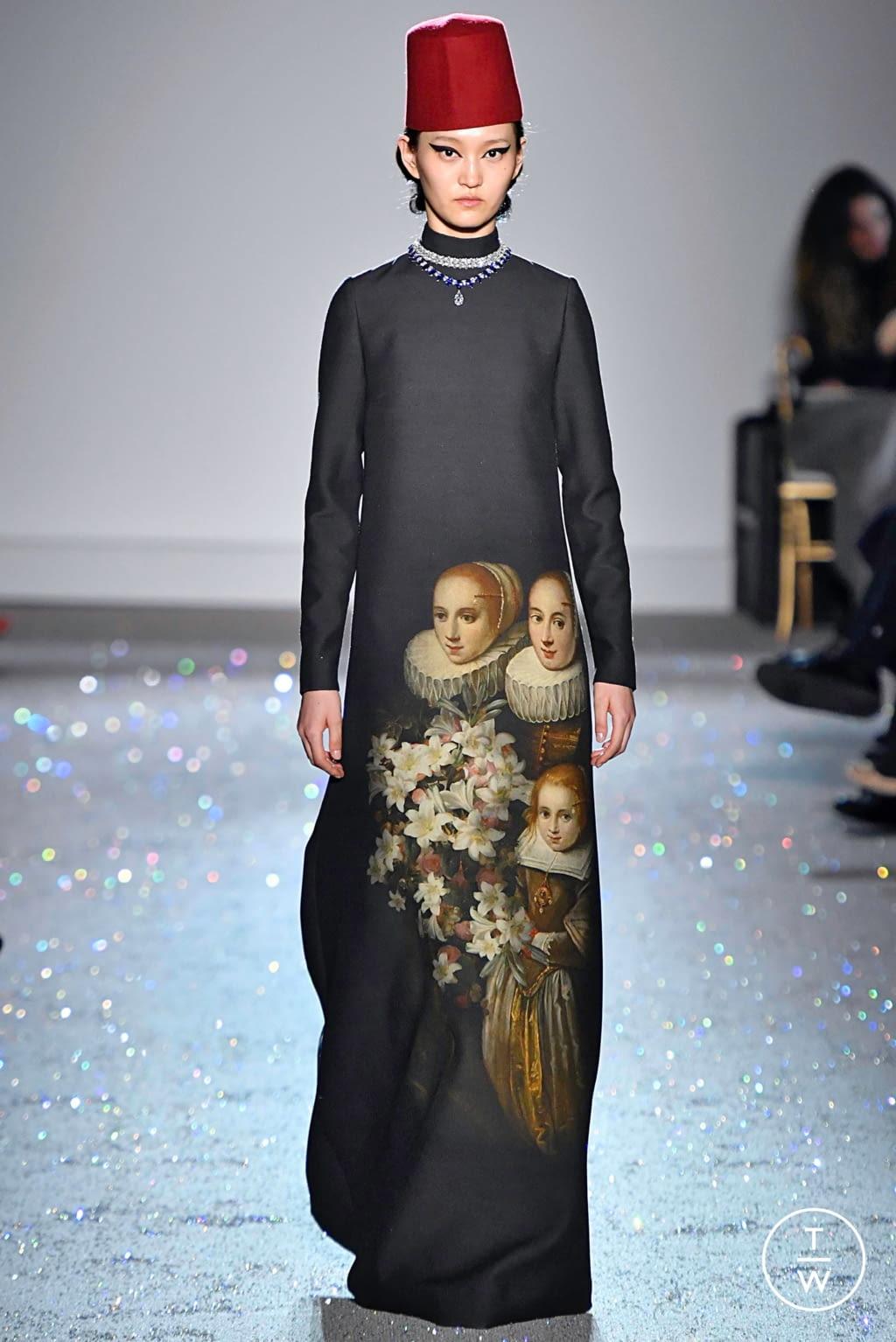 Fashion Week Paris Spring/Summer 2019 look 28 de la collection Giambattista Valli couture