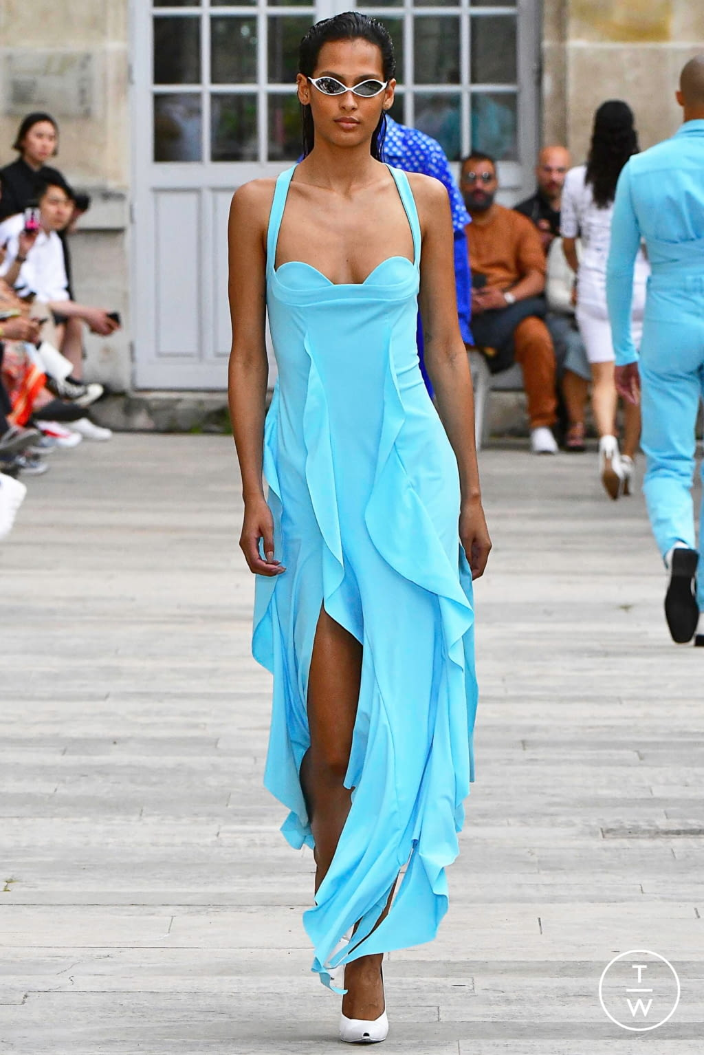Fashion Week Paris Spring/Summer 2020 look 13 from the GmbH collection womenswear