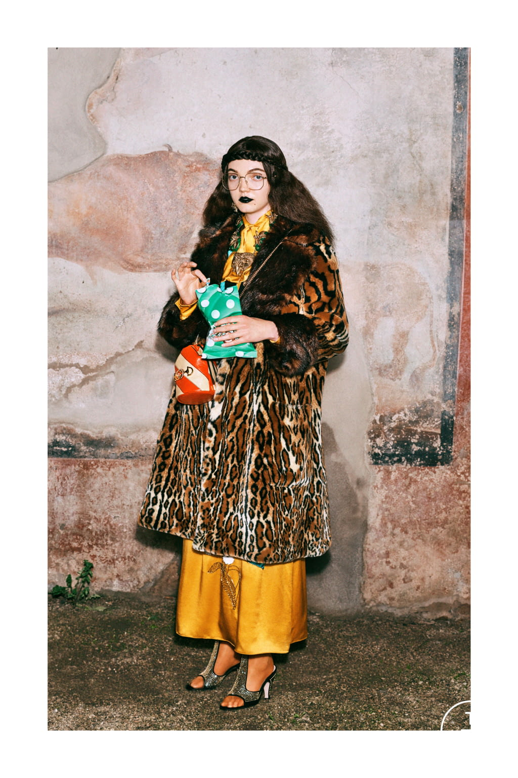 Fashion Week Milan Pre-Fall 2019 look 37 from the Gucci collection womenswear