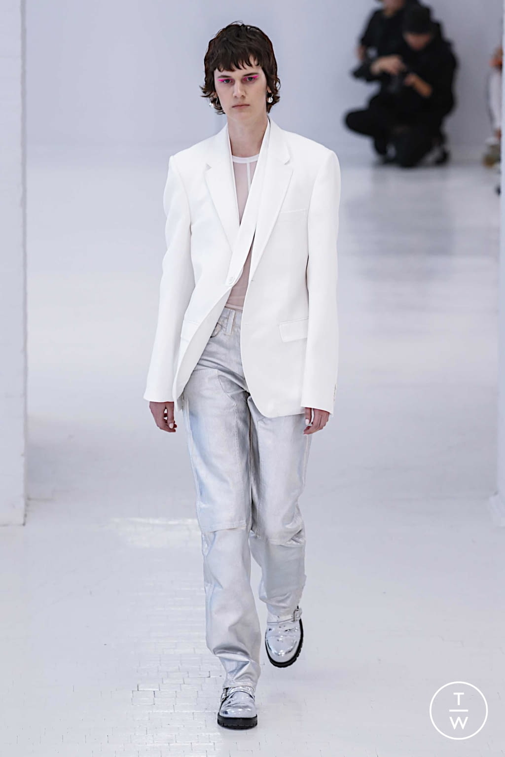Fashion Week New York Spring/Summer 2020 look 6 from the Helmut Lang collection womenswear