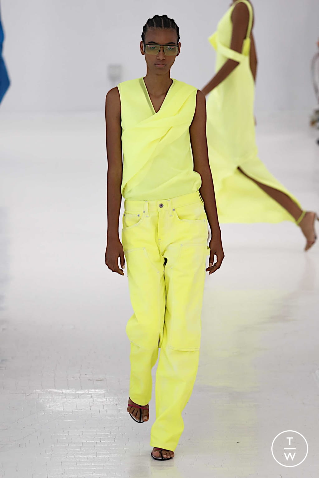 Fashion Week New York Spring/Summer 2020 look 29 from the Helmut Lang collection womenswear