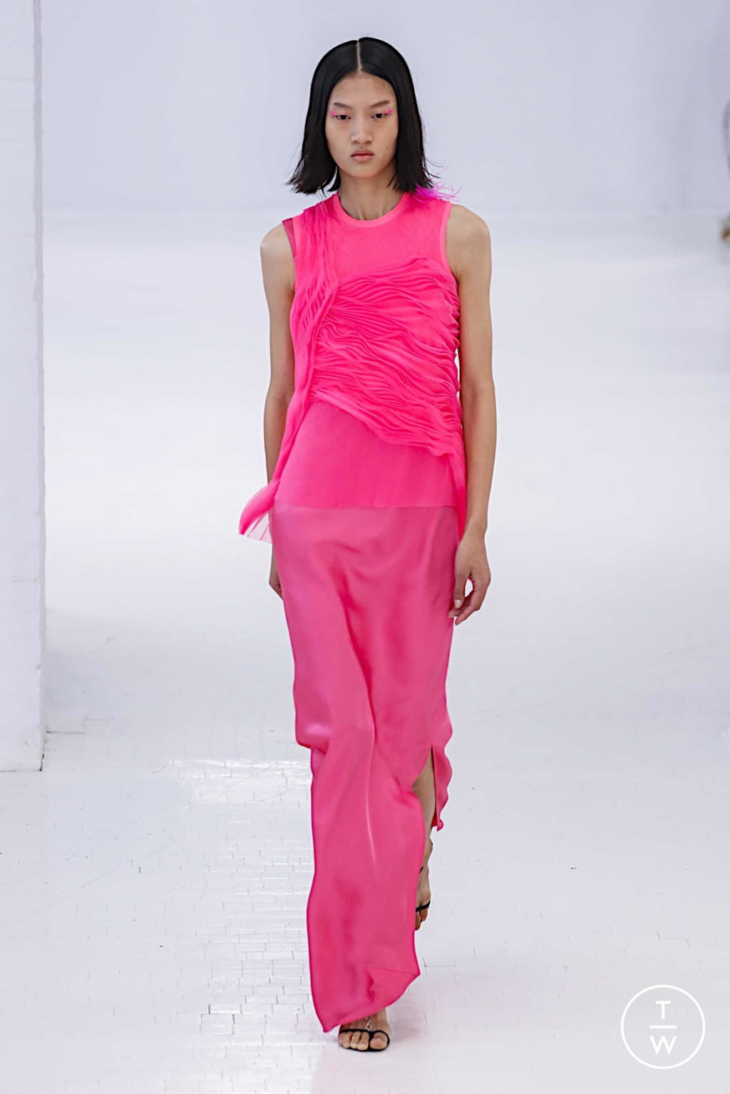 Fashion Week New York Spring/Summer 2020 look 31 from the Helmut Lang collection womenswear