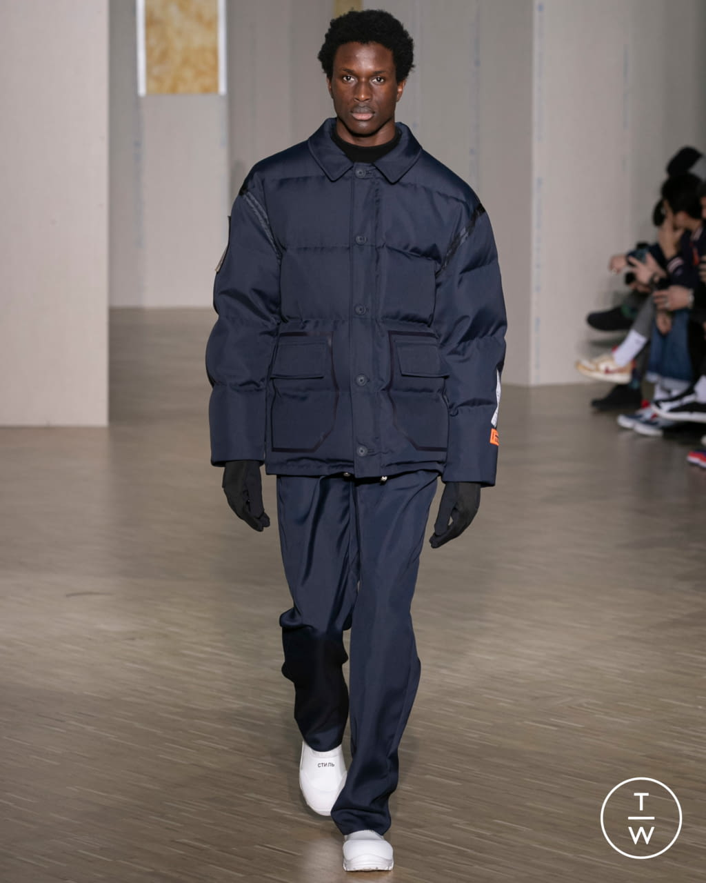 Fashion Week Paris Fall/Winter 2020 look 2 from the Heron Preston collection menswear