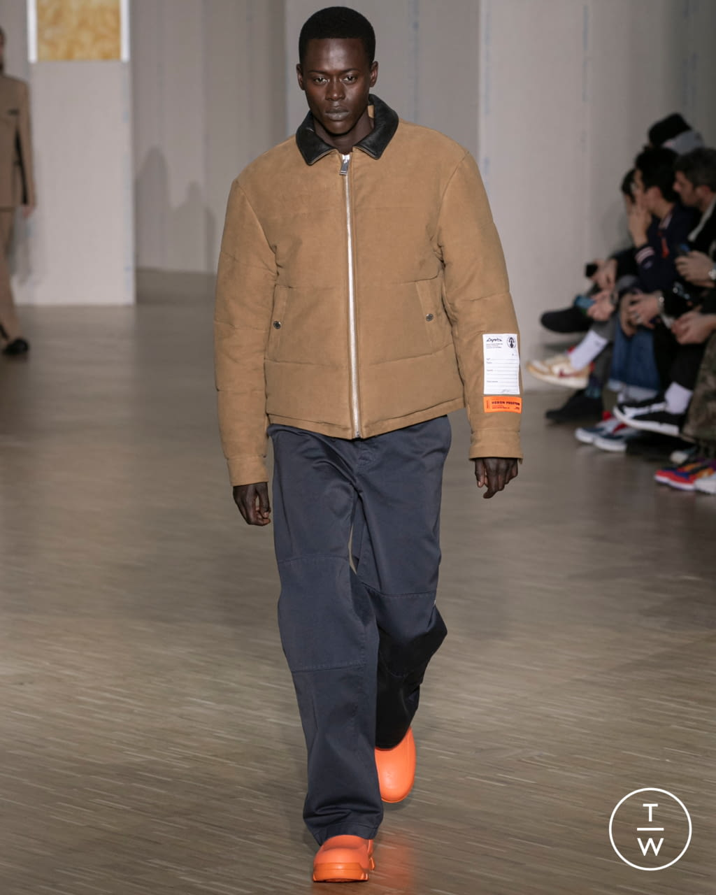 Fashion Week Paris Fall/Winter 2020 look 3 from the Heron Preston collection menswear