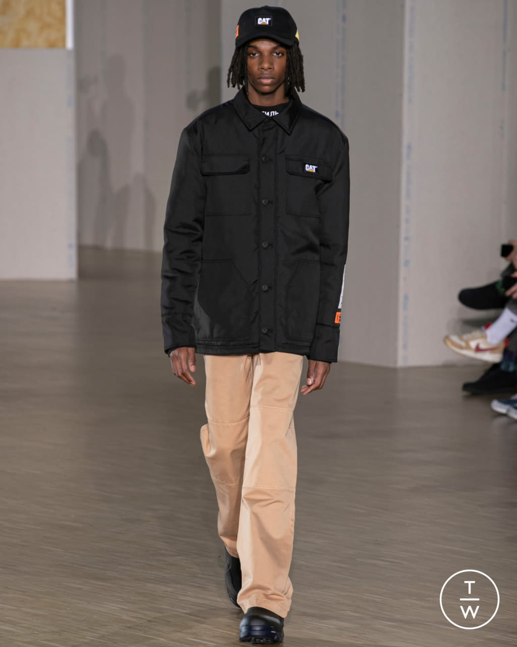 Fashion Week Paris Fall/Winter 2020 look 5 from the Heron Preston collection menswear