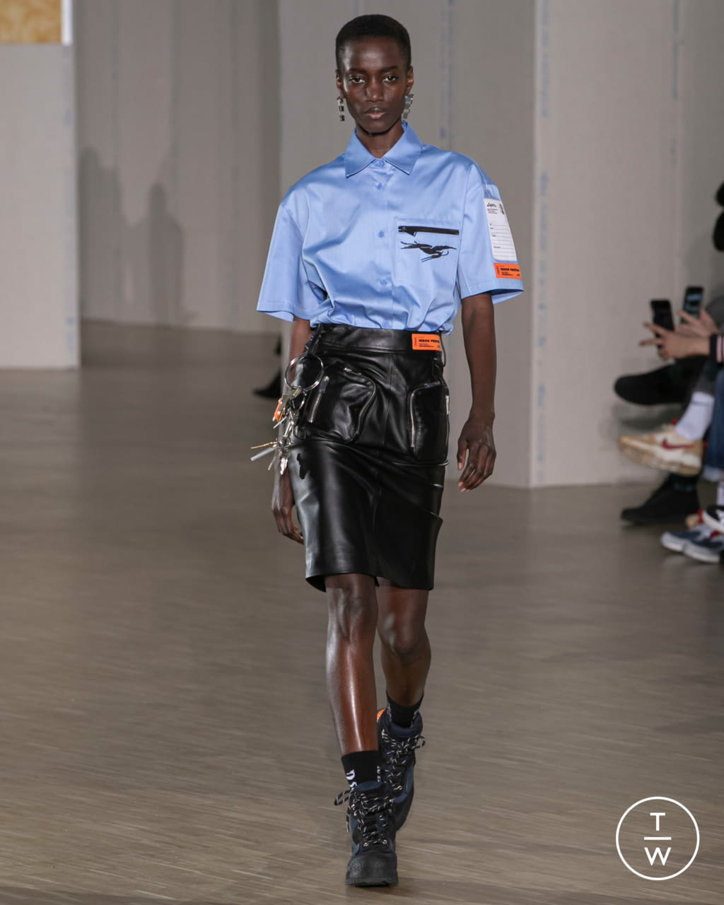 Fashion Week Paris Fall/Winter 2020 look 8 from the Heron Preston collection menswear