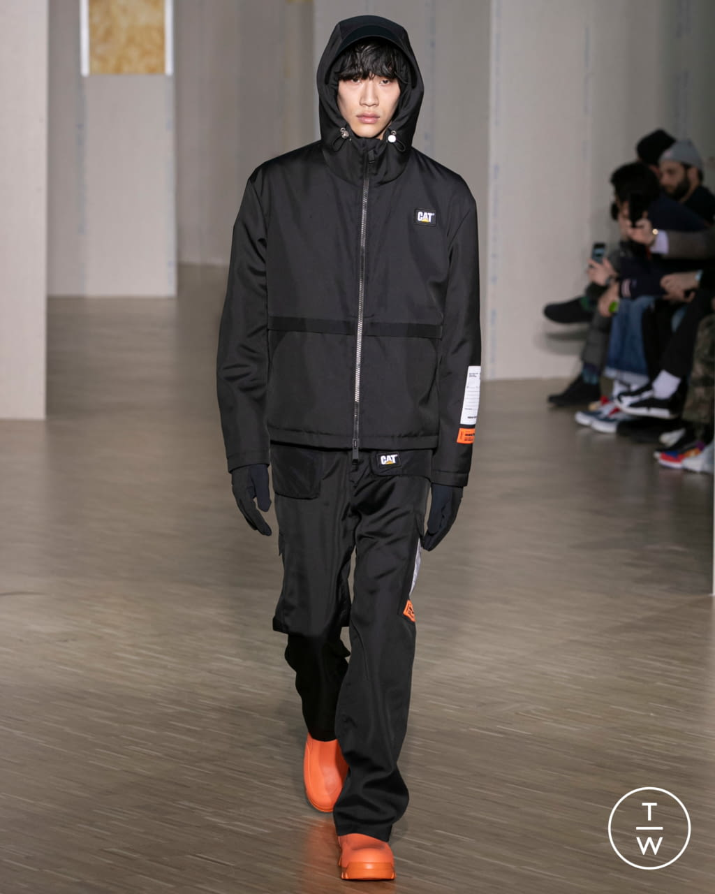 Fashion Week Paris Fall/Winter 2020 look 9 from the Heron Preston collection menswear