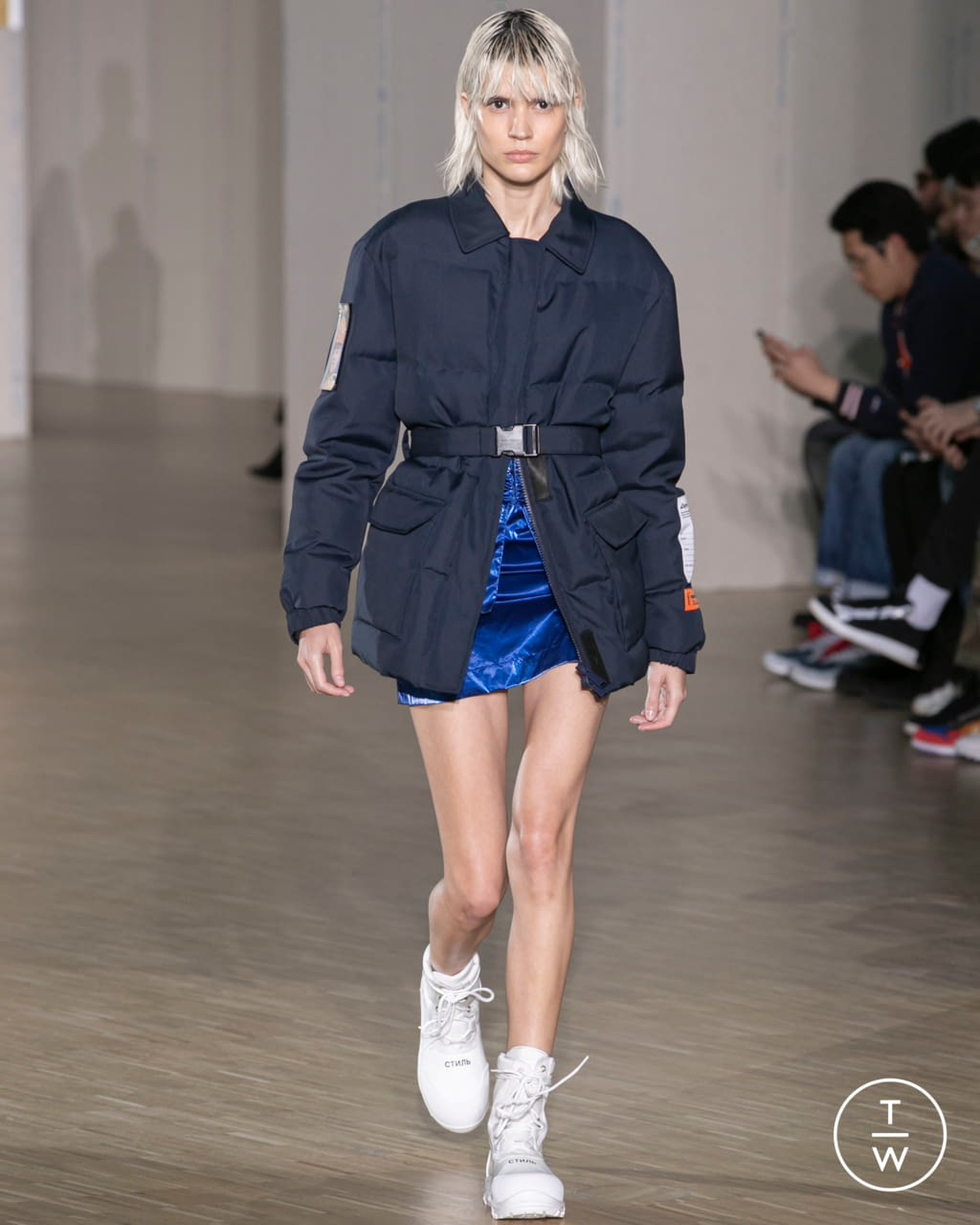 Fashion Week Paris Fall/Winter 2020 look 15 from the Heron Preston collection menswear