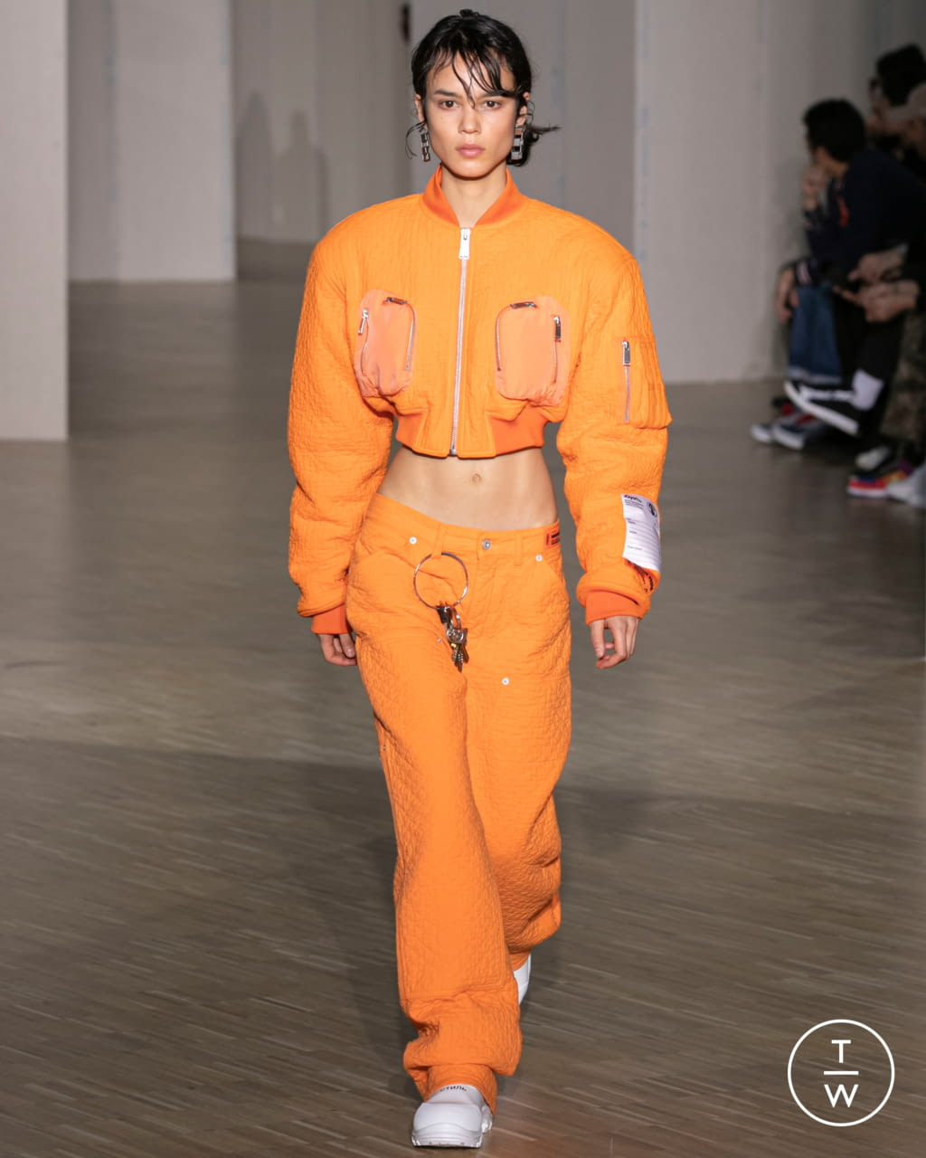 Fashion Week Paris Fall/Winter 2020 look 16 from the Heron Preston collection menswear