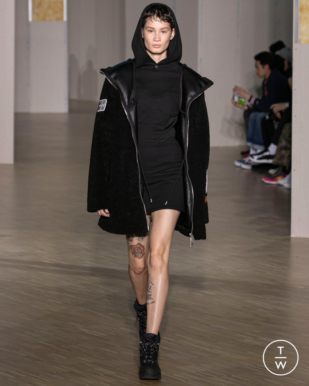 Fashion Week Paris Fall/Winter 2020 look 22 from the Heron Preston collection menswear