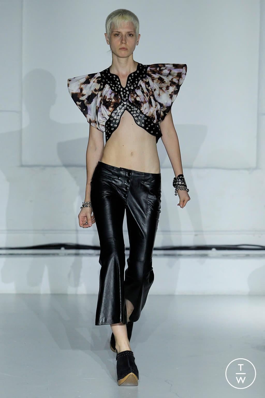 Fashion Week Paris Spring/Summer 2019 look 24 from the Hyun Mi Nielsen collection womenswear