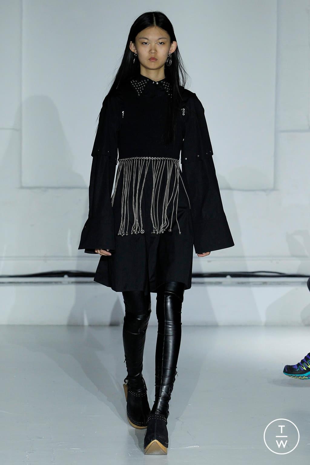 Fashion Week Paris Spring/Summer 2019 look 27 from the Hyun Mi Nielsen collection womenswear