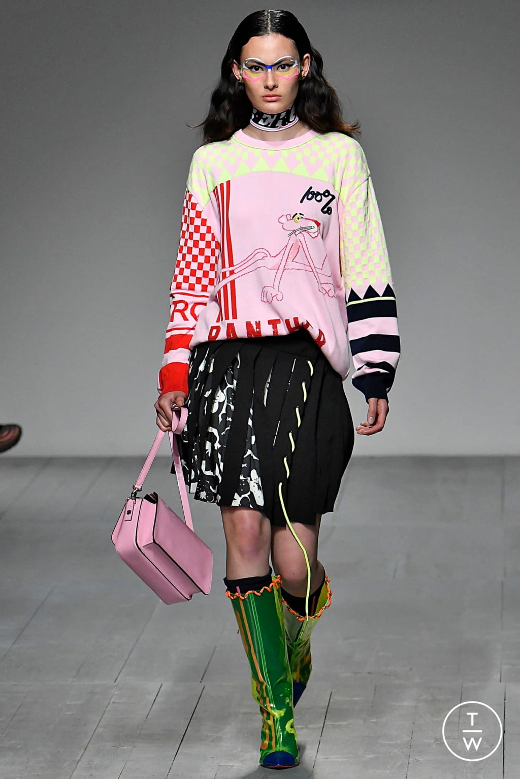 Fashion Week London Spring/Summer 2019 look 38 de la collection Iceberg menswear