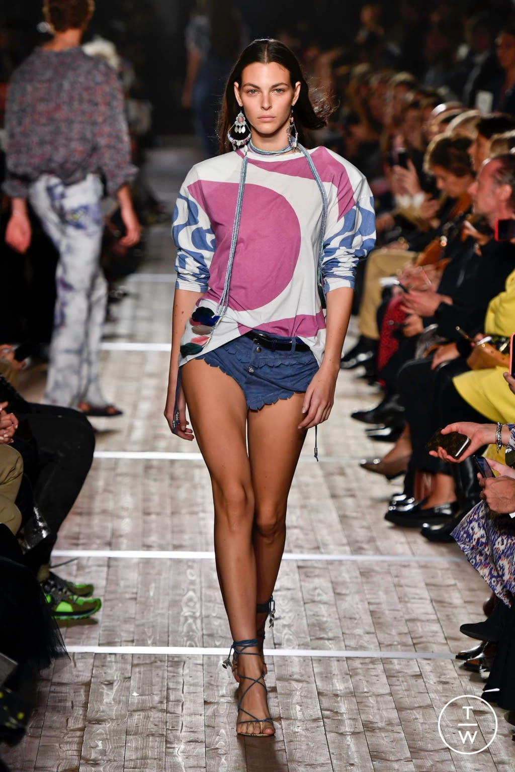 Fashion Week Paris Spring/Summer 2020 look 30 from the Isabel Marant collection womenswear