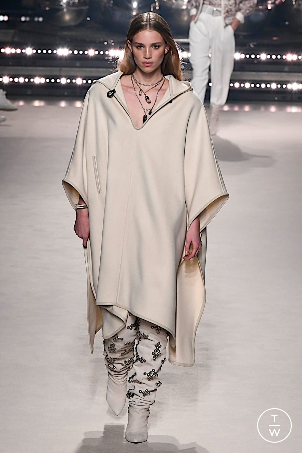Fashion Week Paris Fall/Winter 2020 look 1 from the Isabel Marant collection womenswear