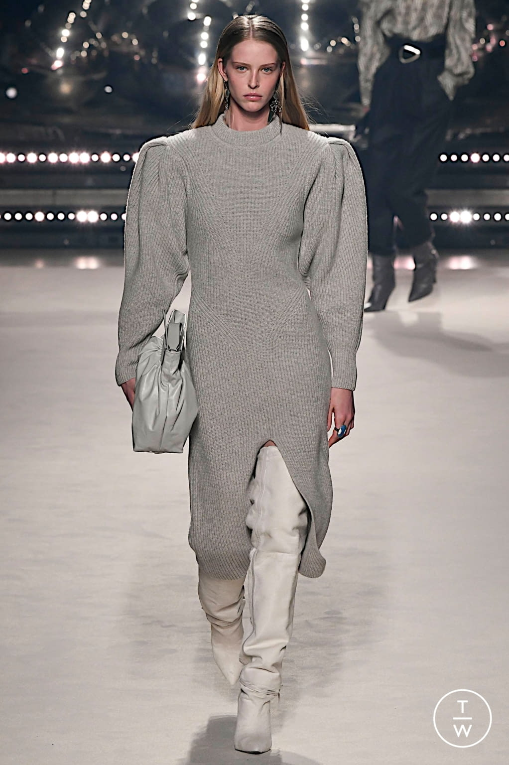 Fashion Week Paris Fall/Winter 2020 look 14 from the Isabel Marant collection womenswear