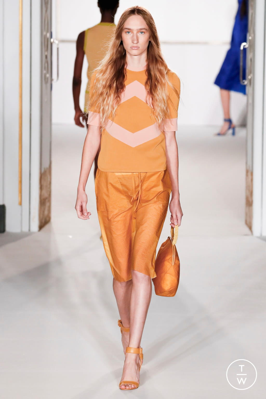 Fashion Week London Spring/Summer 2018 look 13 from the Jasper Conran collection 女装