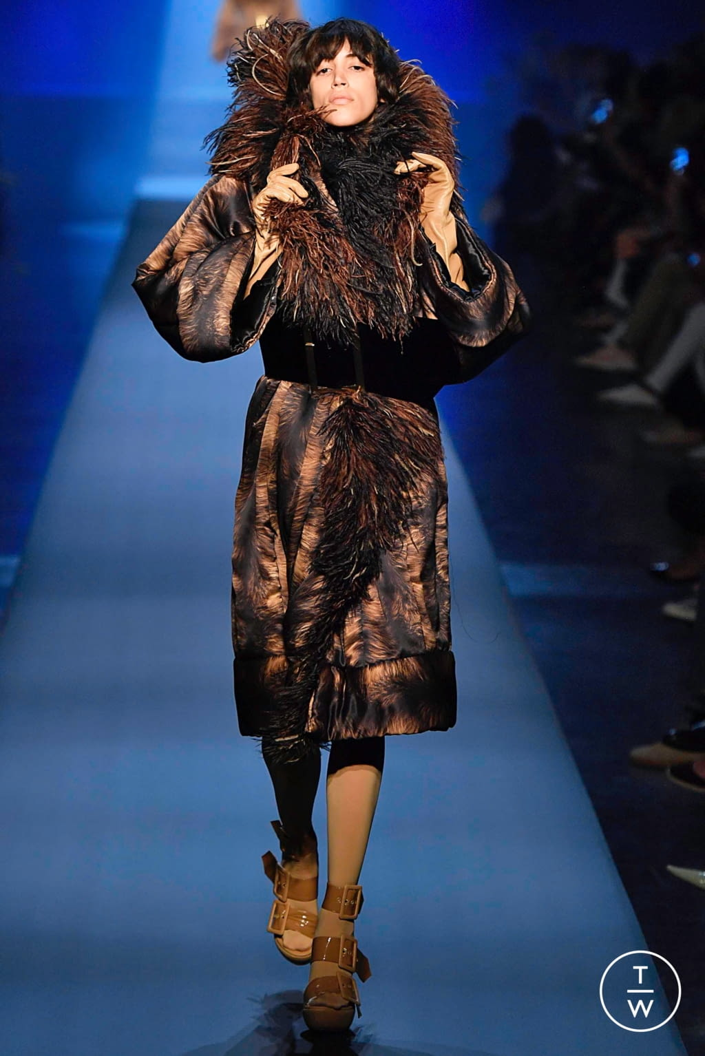 Fashion Week Paris Fall/Winter 2019 look 3 from the Jean Paul Gaultier collection couture
