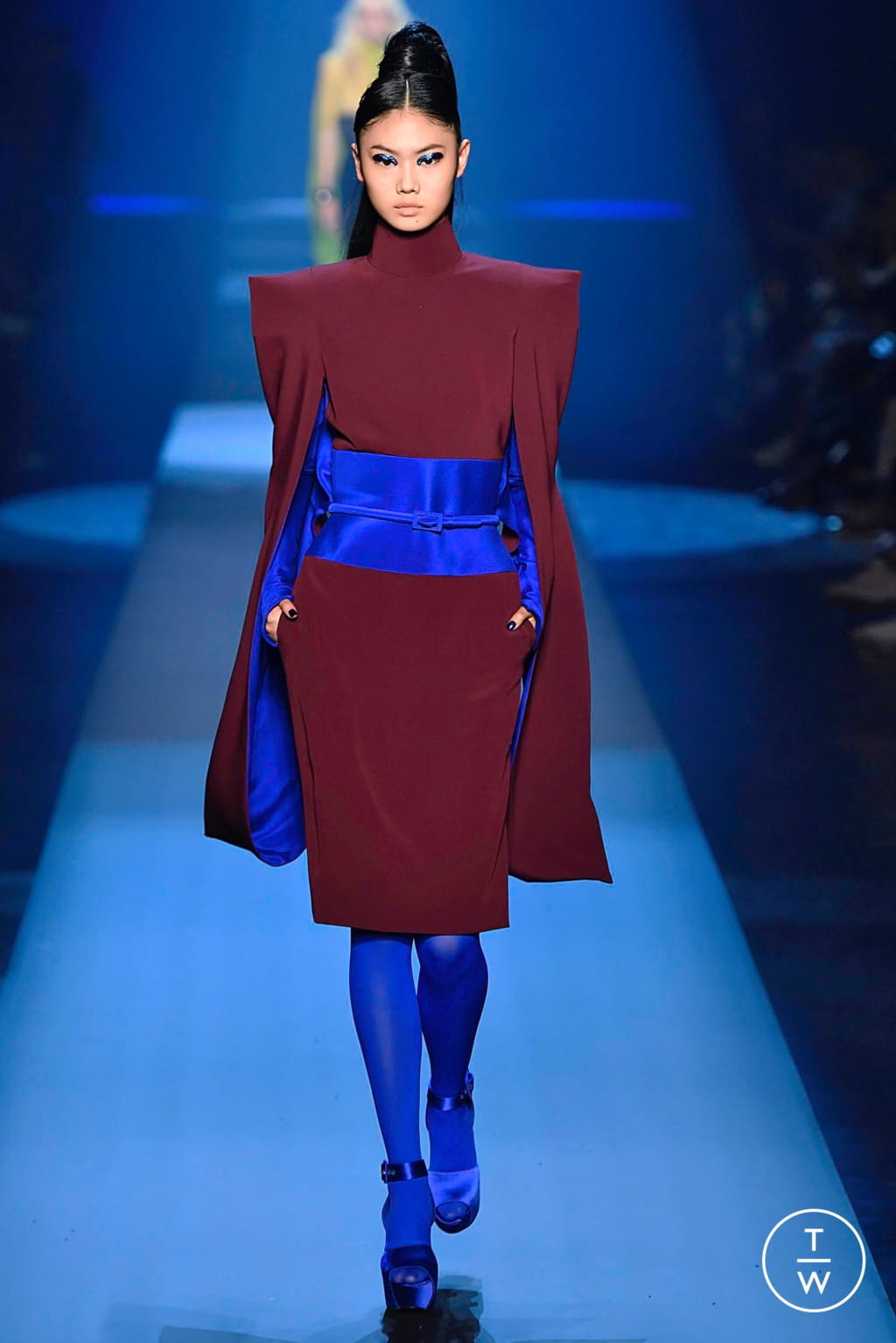 Fashion Week Paris Fall/Winter 2019 look 20 from the Jean Paul Gaultier collection couture