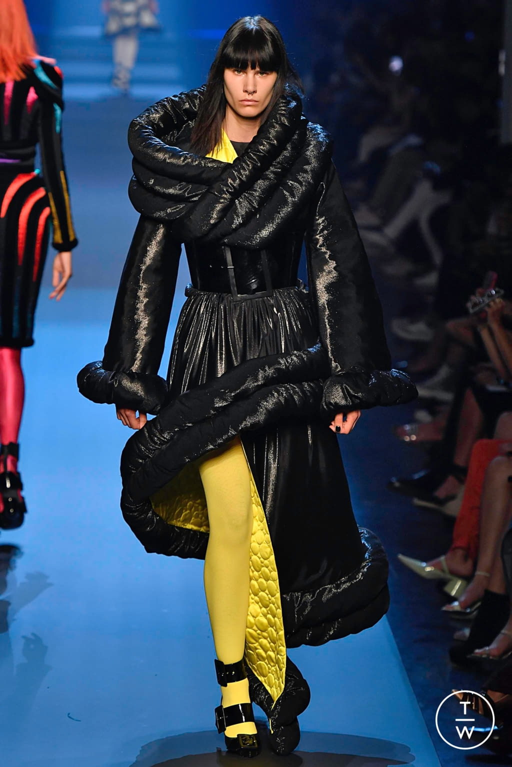 Fashion Week Paris Fall/Winter 2019 look 24 from the Jean Paul Gaultier collection couture