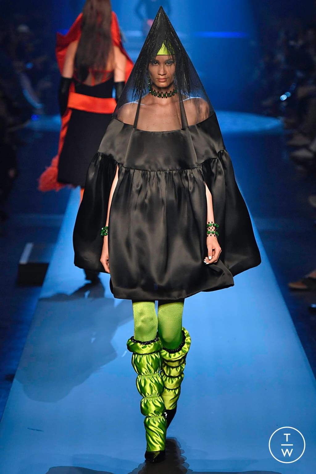 Fashion Week Paris Fall/Winter 2019 look 32 from the Jean Paul Gaultier collection couture