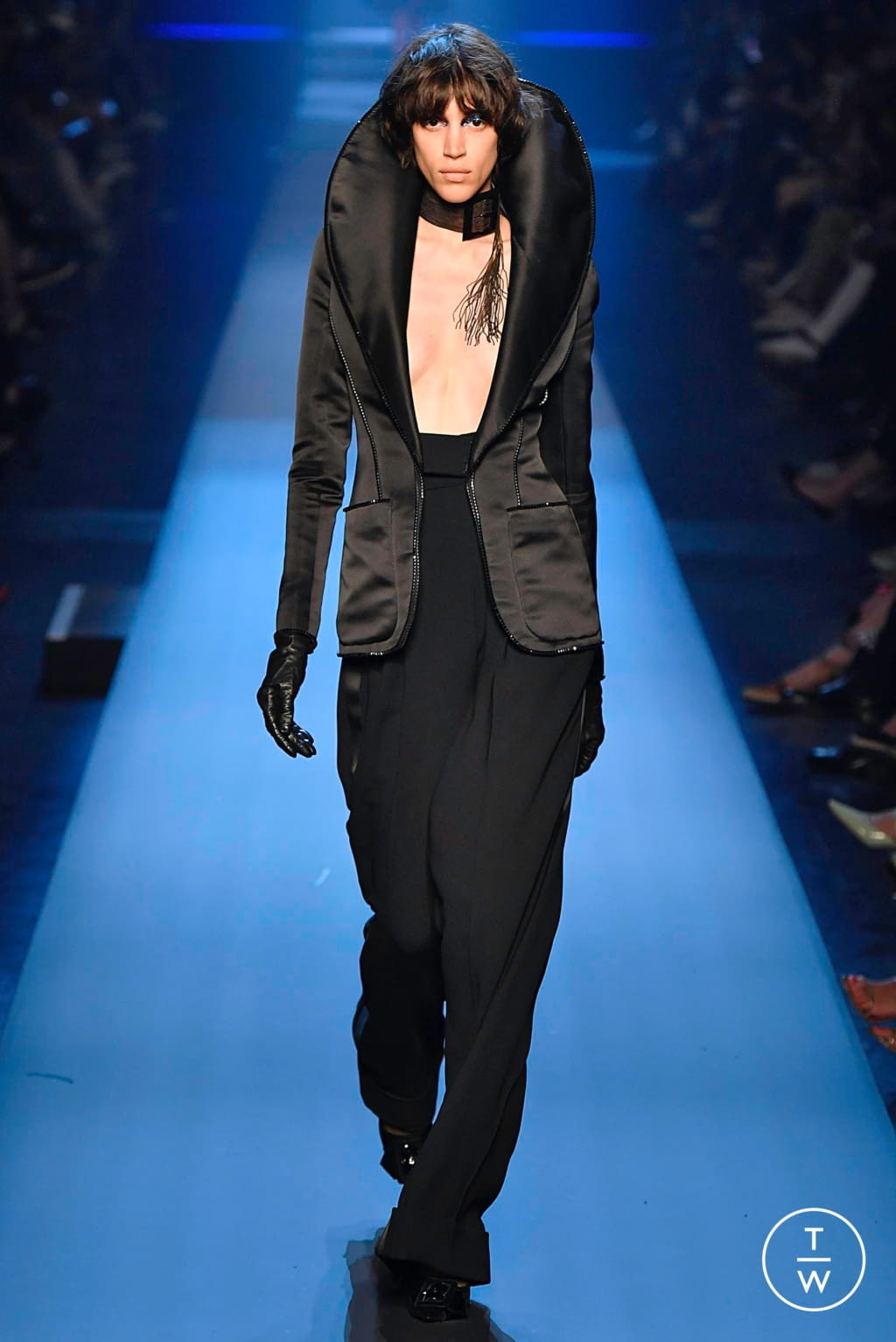 Fashion Week Paris Fall/Winter 2019 look 34 from the Jean Paul Gaultier collection couture