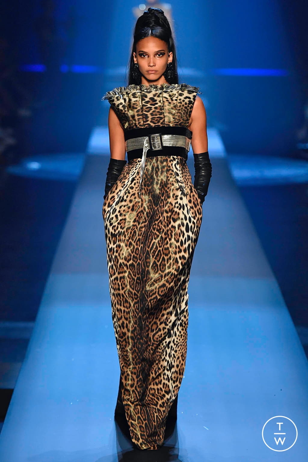 Fashion Week Paris Fall/Winter 2019 look 43 from the Jean Paul Gaultier collection couture