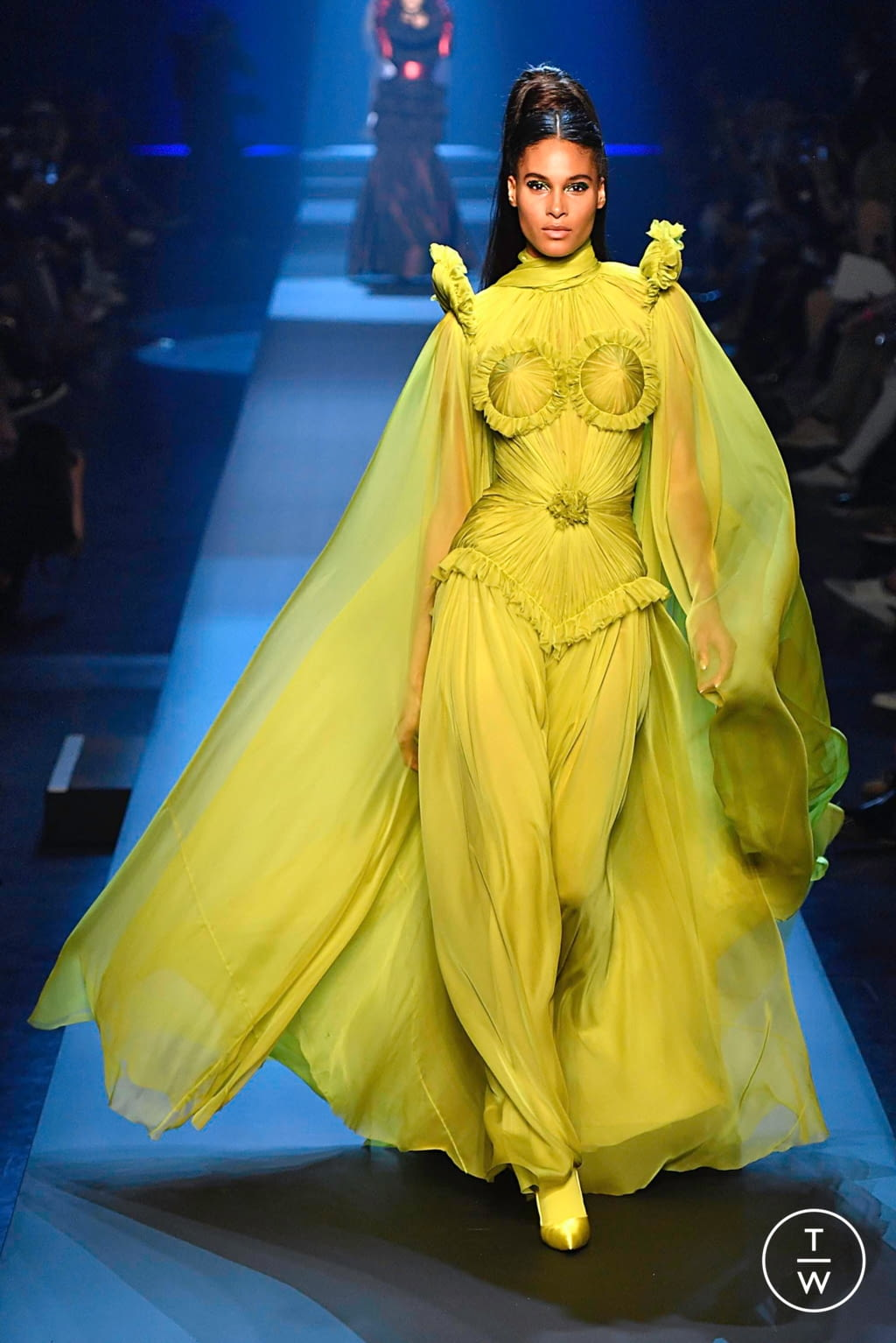 Fashion Week Paris Fall/Winter 2019 look 48 from the Jean Paul Gaultier collection couture