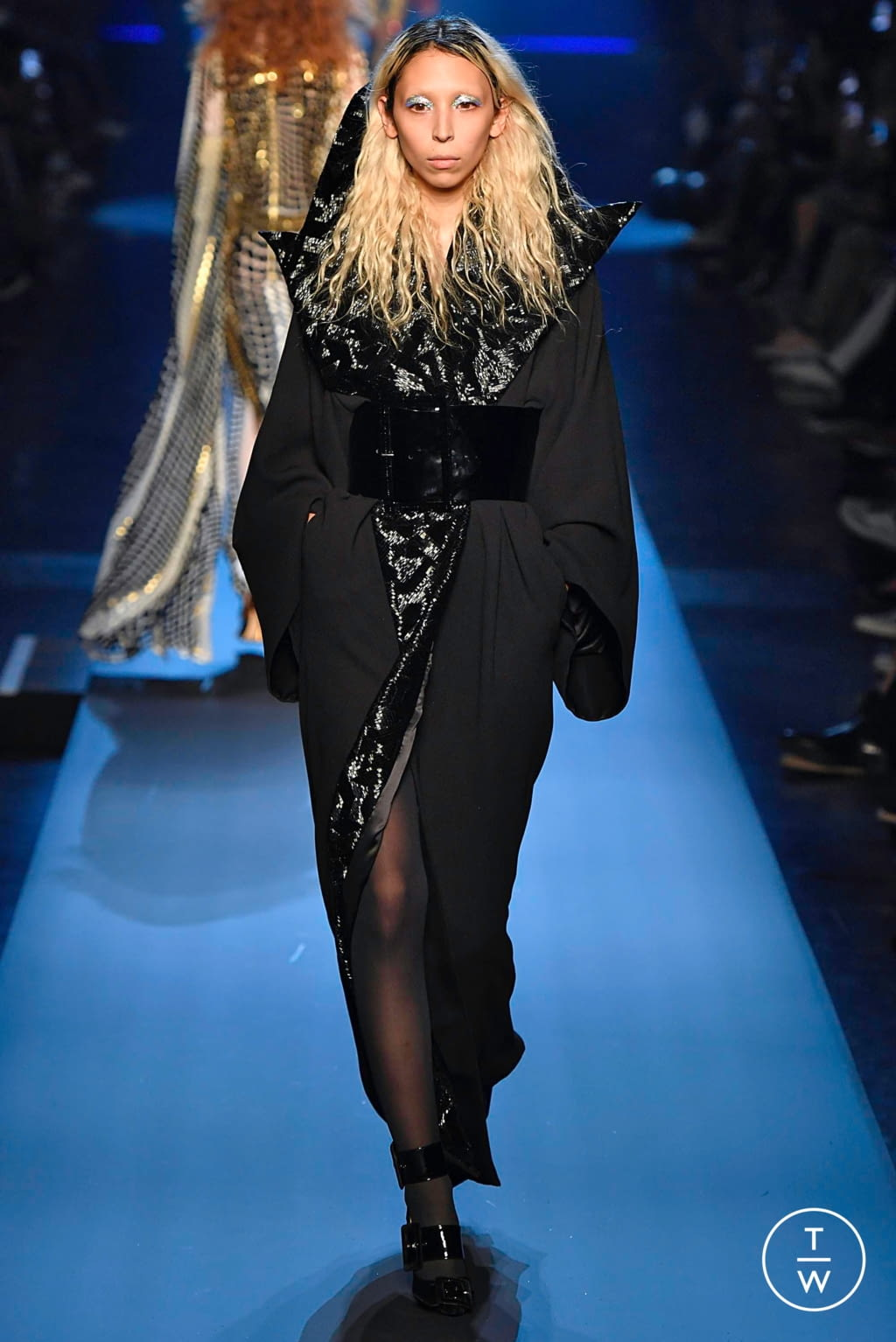 Fashion Week Paris Fall/Winter 2019 look 56 from the Jean Paul Gaultier collection couture