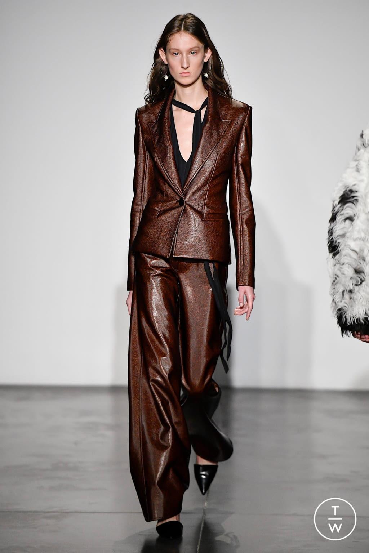 Fashion Week New York Fall/Winter 2020 look 11 de la collection Jeffrey Dodd womenswear