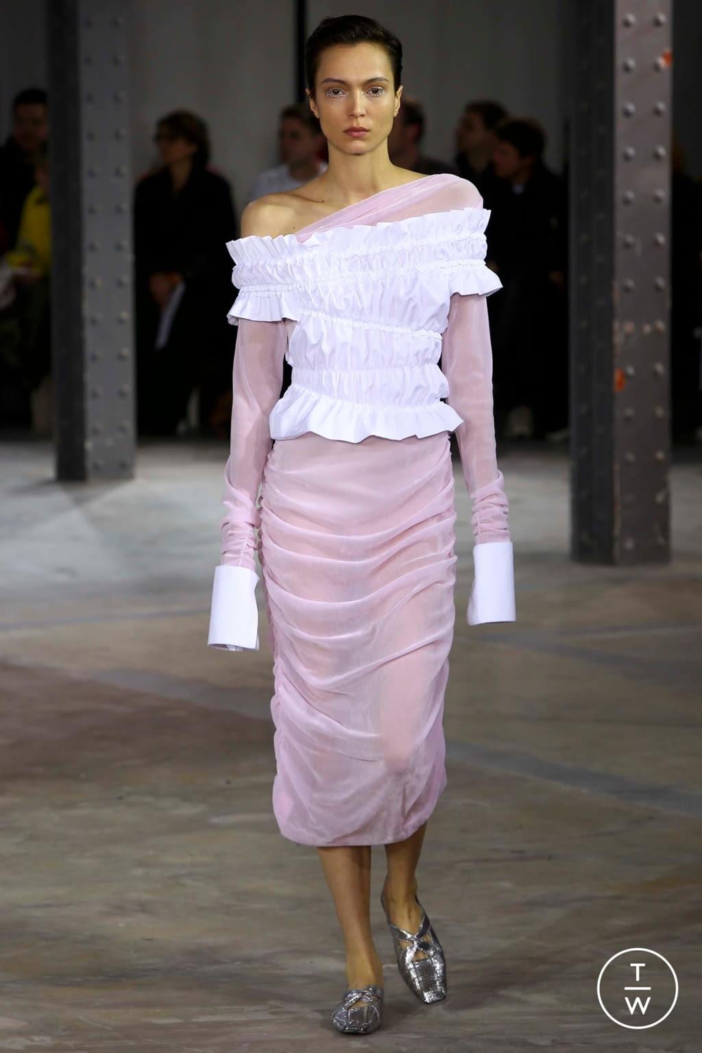 Fashion Week Paris Fall/Winter 2018 look 23 de la collection Anaïs Jourden womenswear