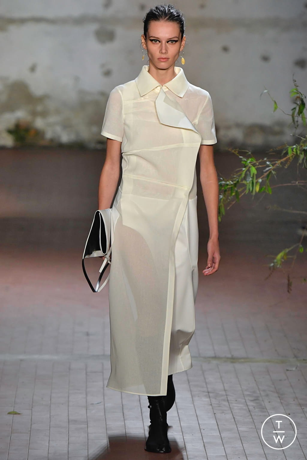 Fashion Week Milan Fall/Winter 2019 look 13 from the Jil Sander collection 女装