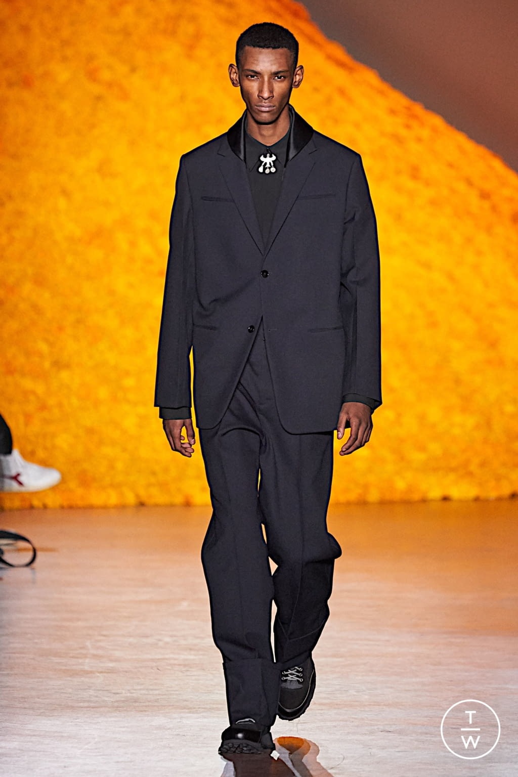 Fashion Week Florence Fall/Winter 2020 look 3 from the Jil Sander collection menswear