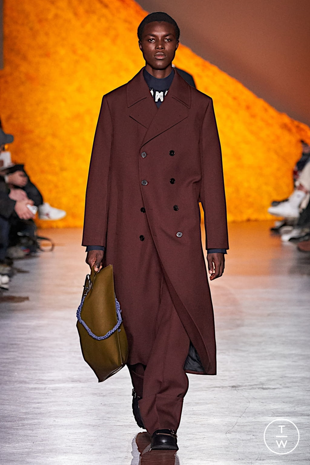 Fashion Week Florence Fall/Winter 2020 look 21 from the Jil Sander collection menswear