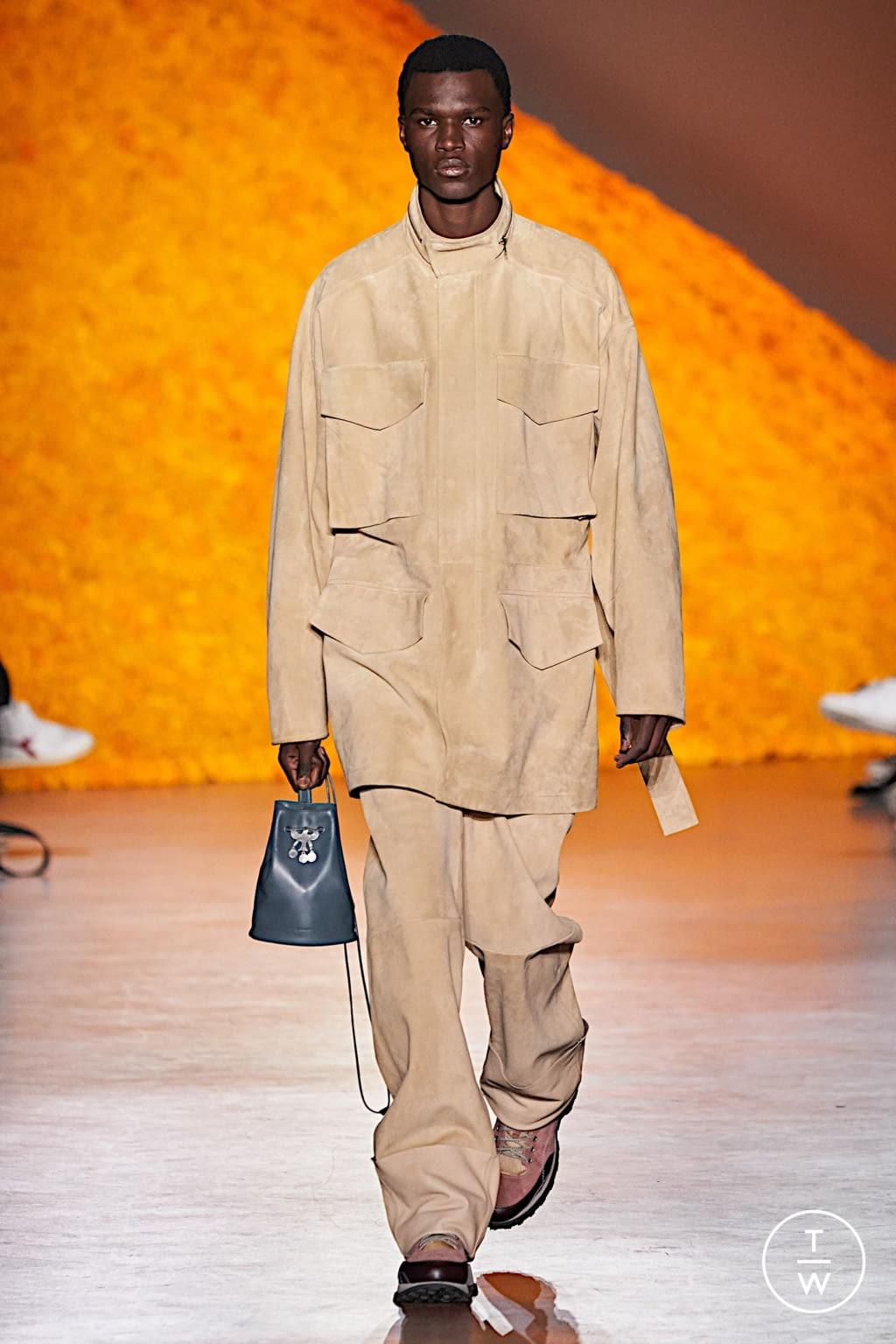 Fashion Week Florence Fall/Winter 2020 look 26 de la collection Jil Sander menswear