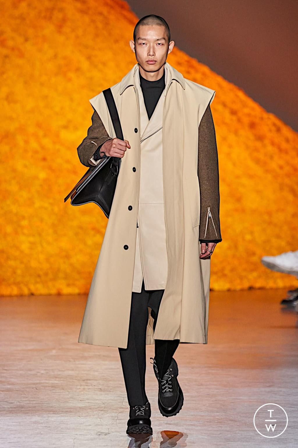 Fashion Week Florence Fall/Winter 2020 look 30 de la collection Jil Sander menswear