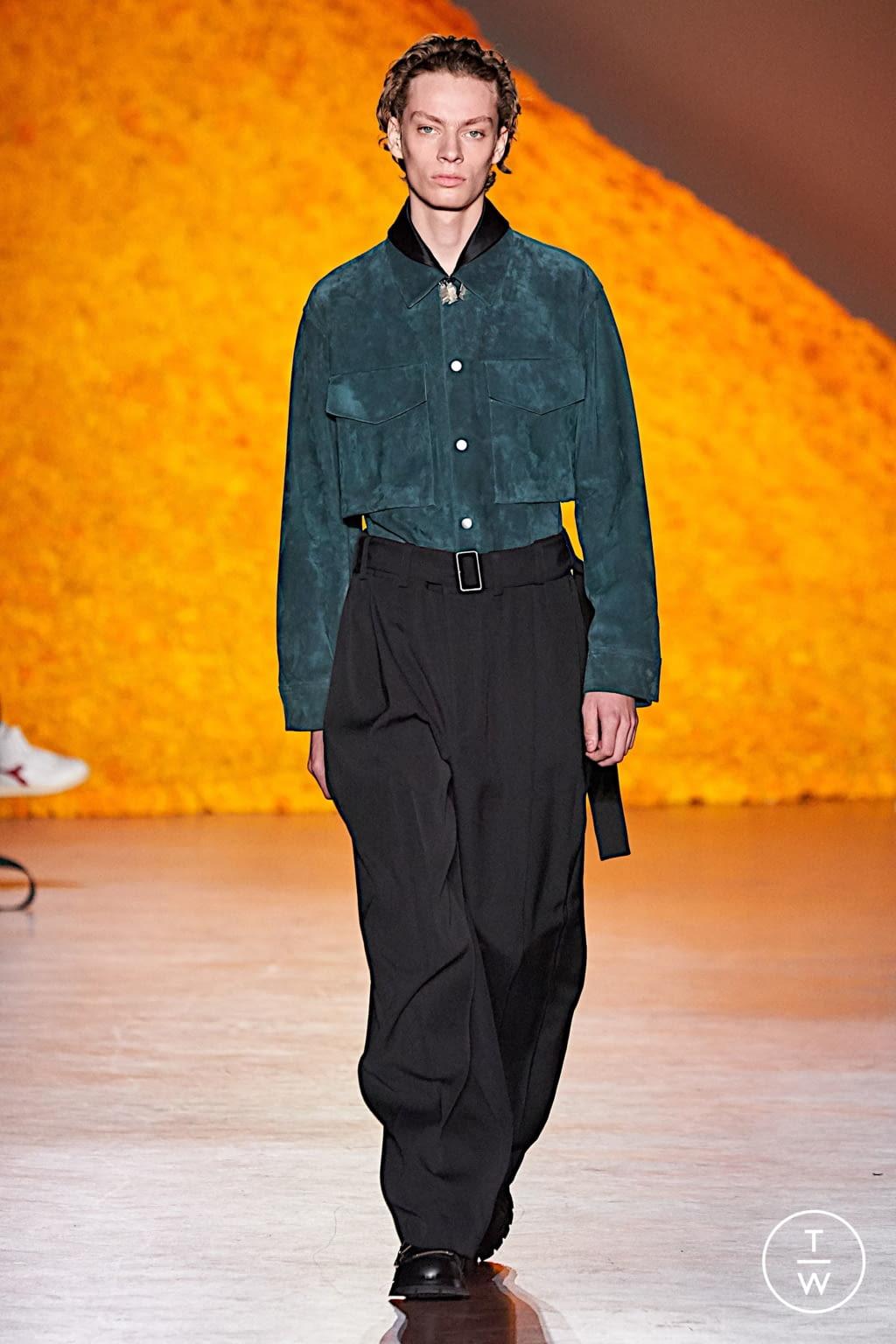 Fashion Week Florence Fall/Winter 2020 look 37 de la collection Jil Sander menswear