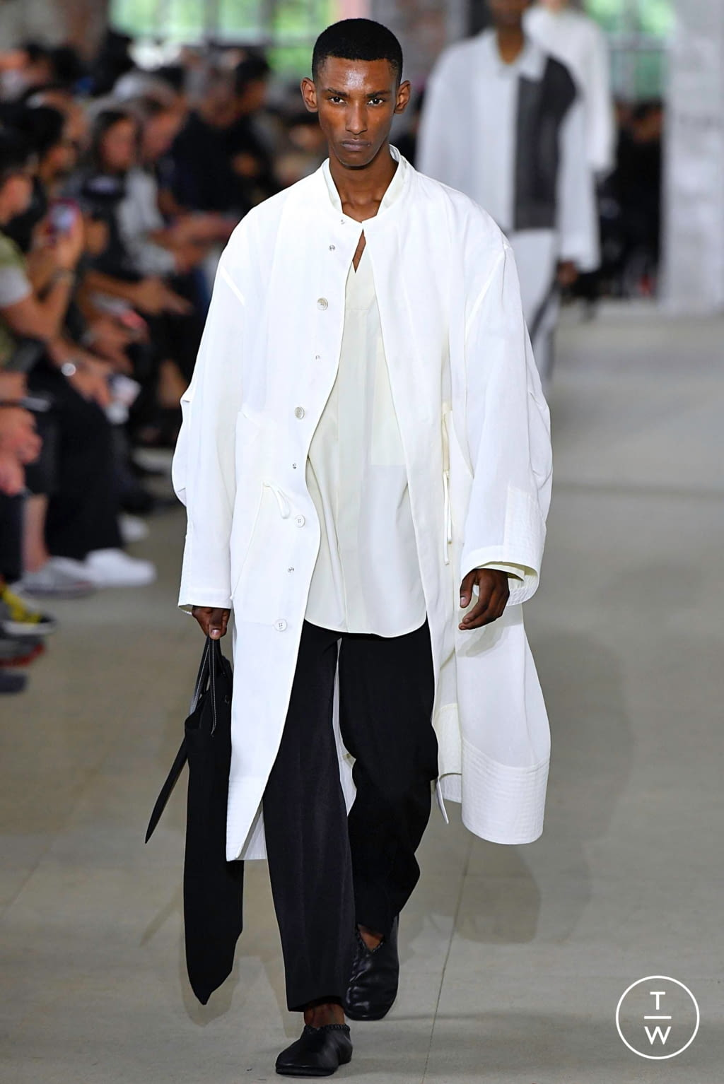 Fashion Week Paris Spring/Summer 2020 look 35 from the Jil Sander collection menswear