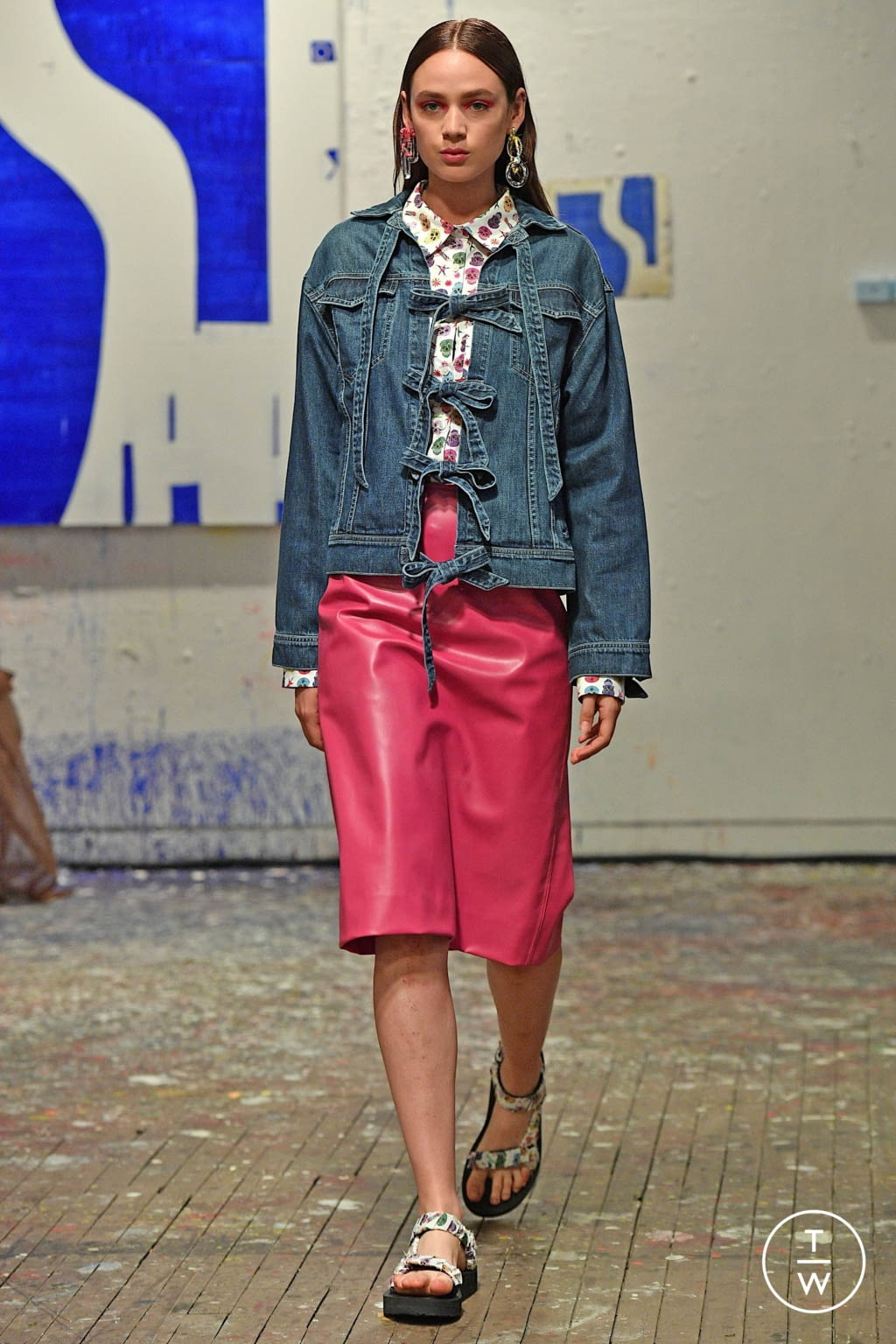 Fashion Week New York Spring/Summer 2020 look 17 from the Jonathan Cohen collection 女装