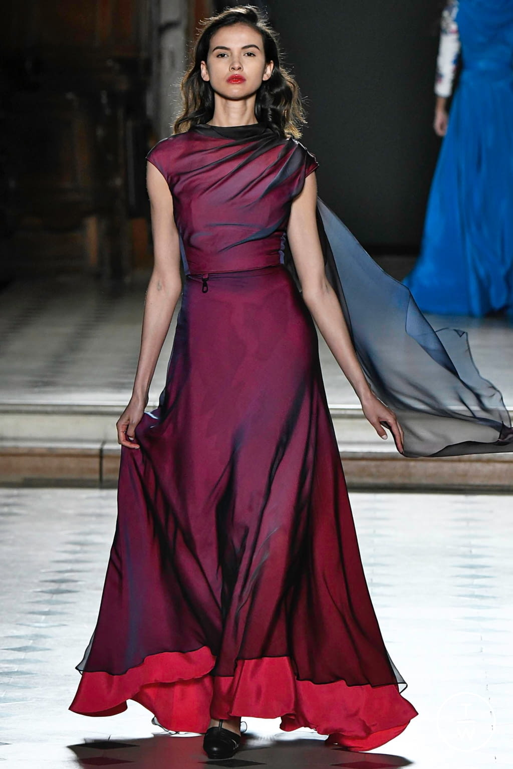 Fashion Week Paris Spring/Summer 2019 look 23 from the Julien Fournié collection couture