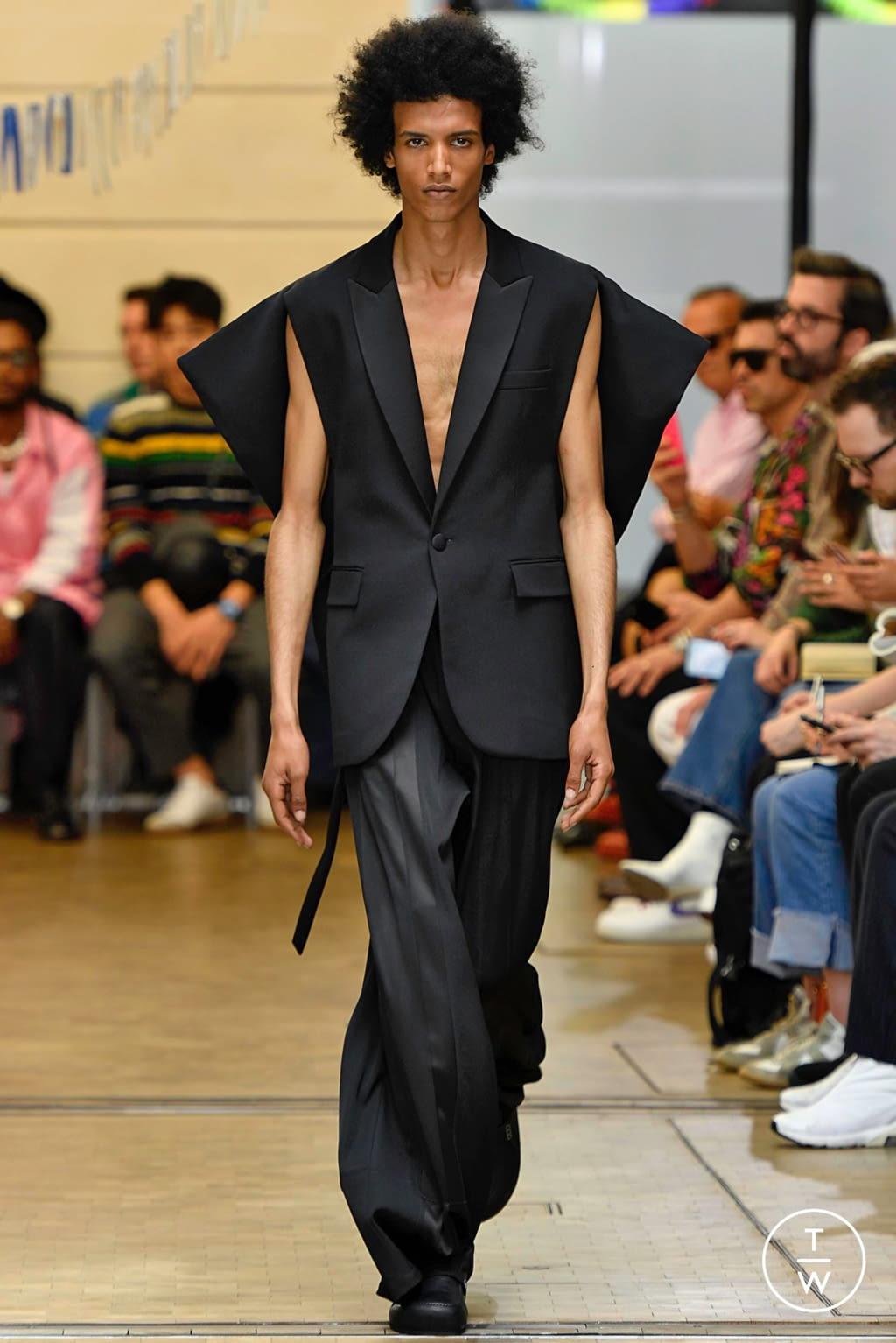 Fashion Week Paris Spring/Summer 2020 look 3 de la collection JW Anderson menswear
