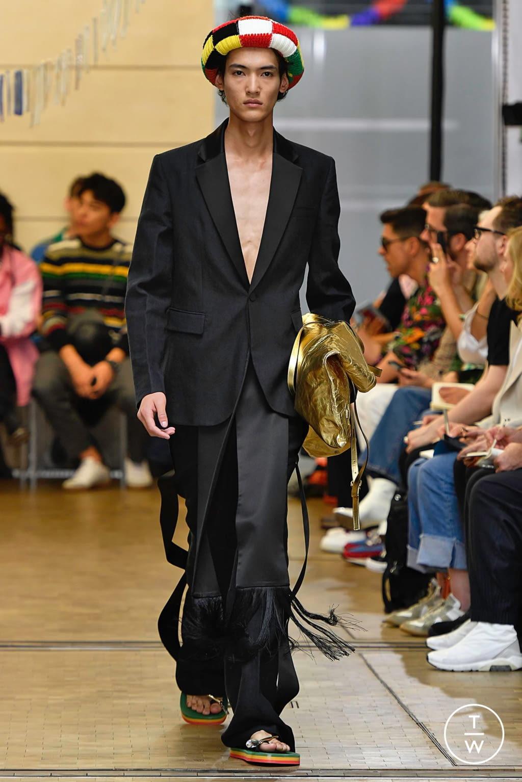 Fashion Week Paris Spring/Summer 2020 look 20 de la collection JW Anderson menswear