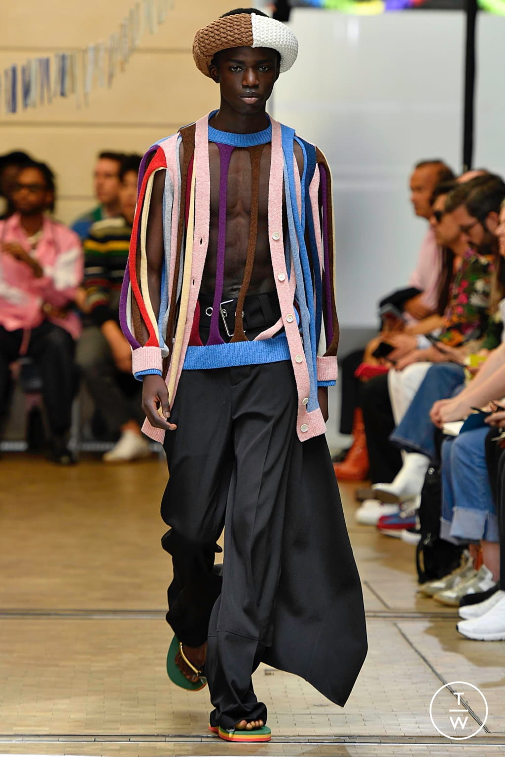 Fashion Week Paris Spring/Summer 2020 look 29 de la collection JW Anderson menswear
