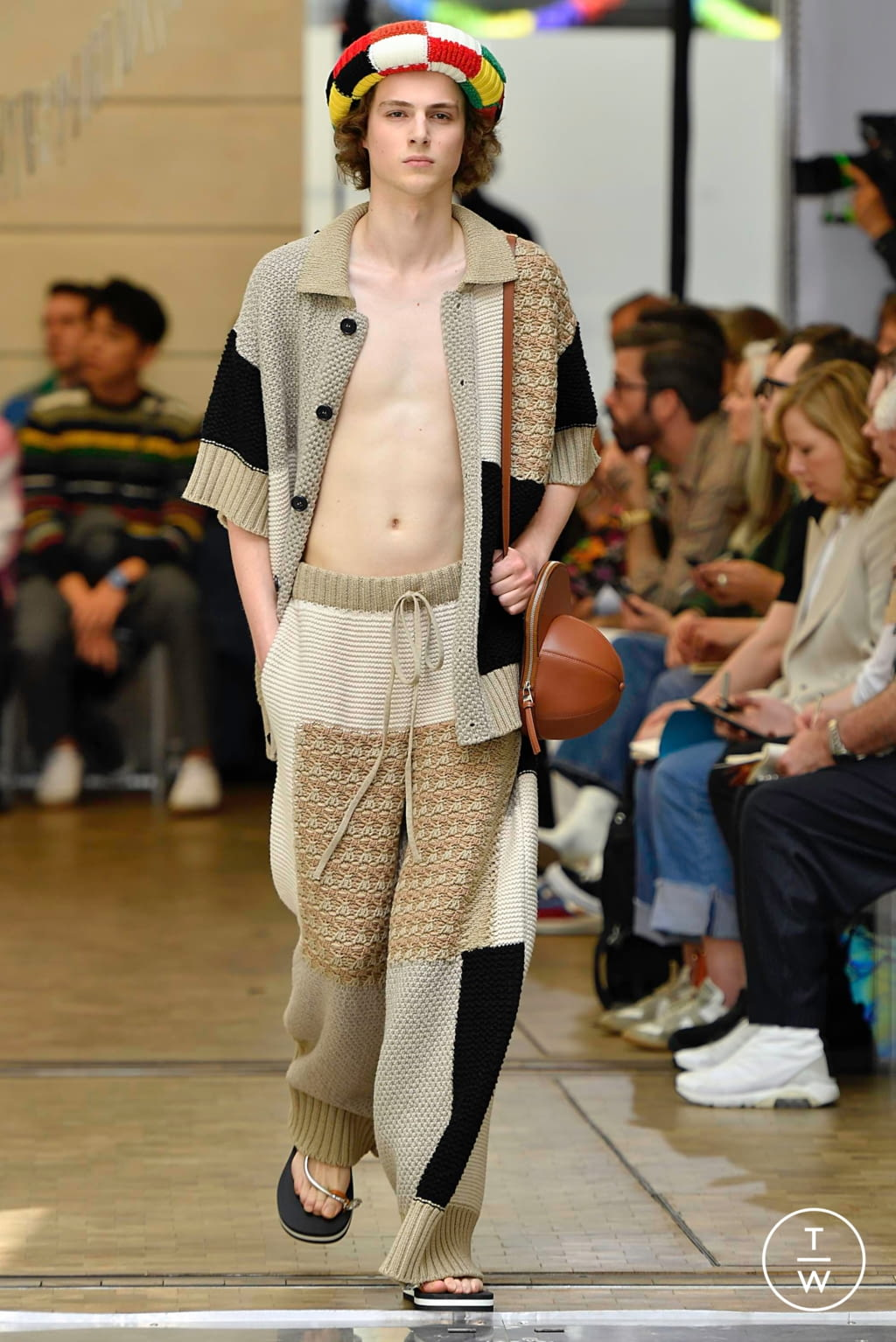 Fashion Week Paris Spring/Summer 2020 look 35 from the JW Anderson collection menswear