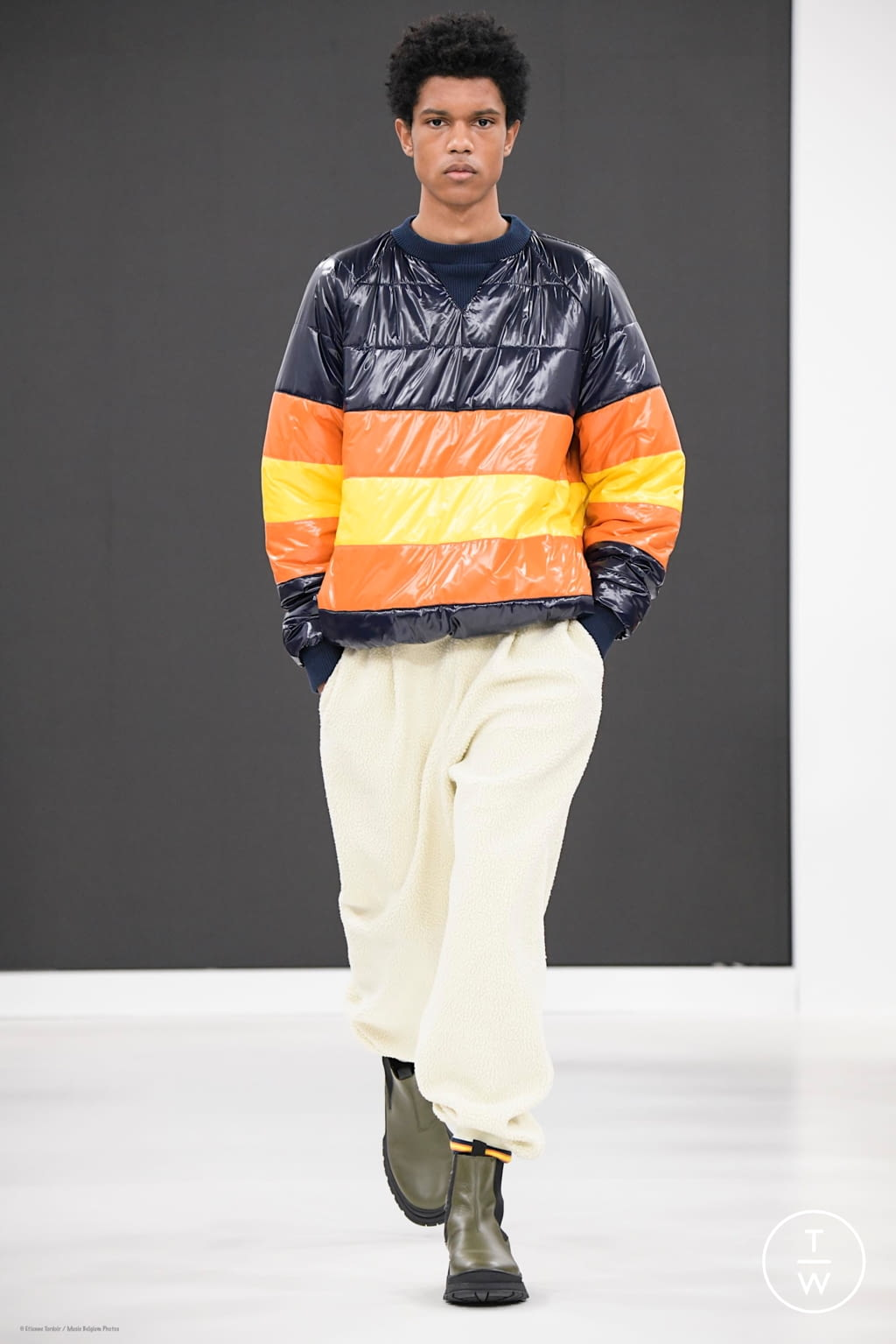 Fashion Week Florence Fall/Winter 2020 look 3 from the K-WAY collection menswear