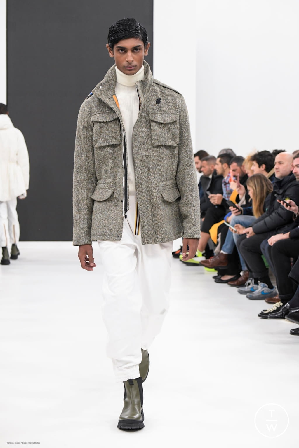 Fashion Week Florence Fall/Winter 2020 look 15 from the K-WAY collection menswear