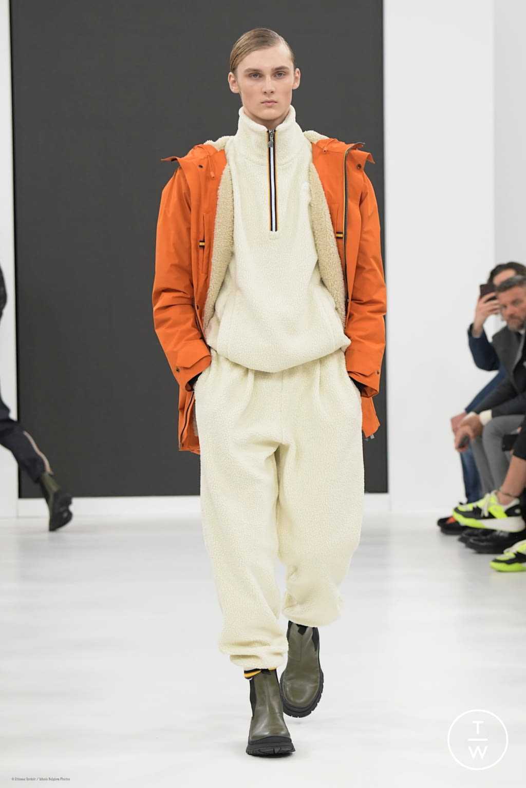Fashion Week Florence Fall/Winter 2020 look 42 from the K-WAY collection menswear