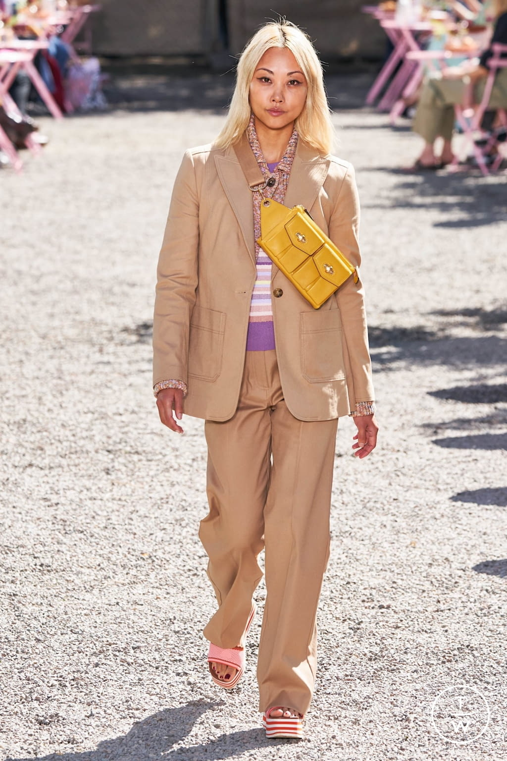 Fashion Week New York Spring/Summer 2020 look 13 from the Kate Spade New York collection womenswear