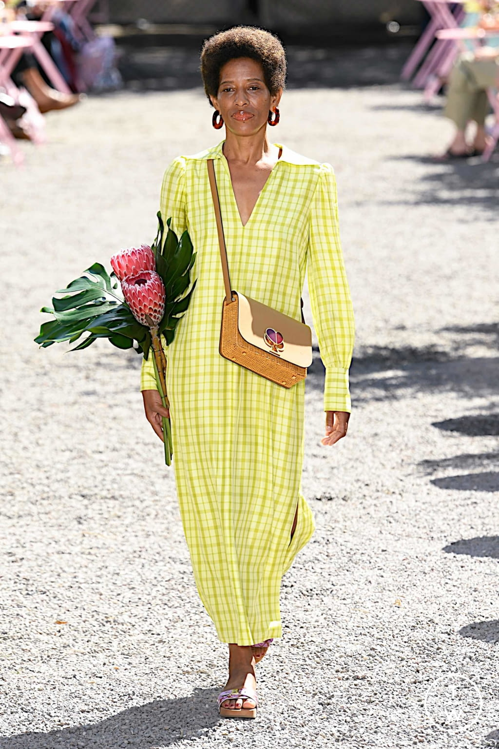 Fashion Week New York Spring/Summer 2020 look 4 from the Kate Spade New York collection womenswear