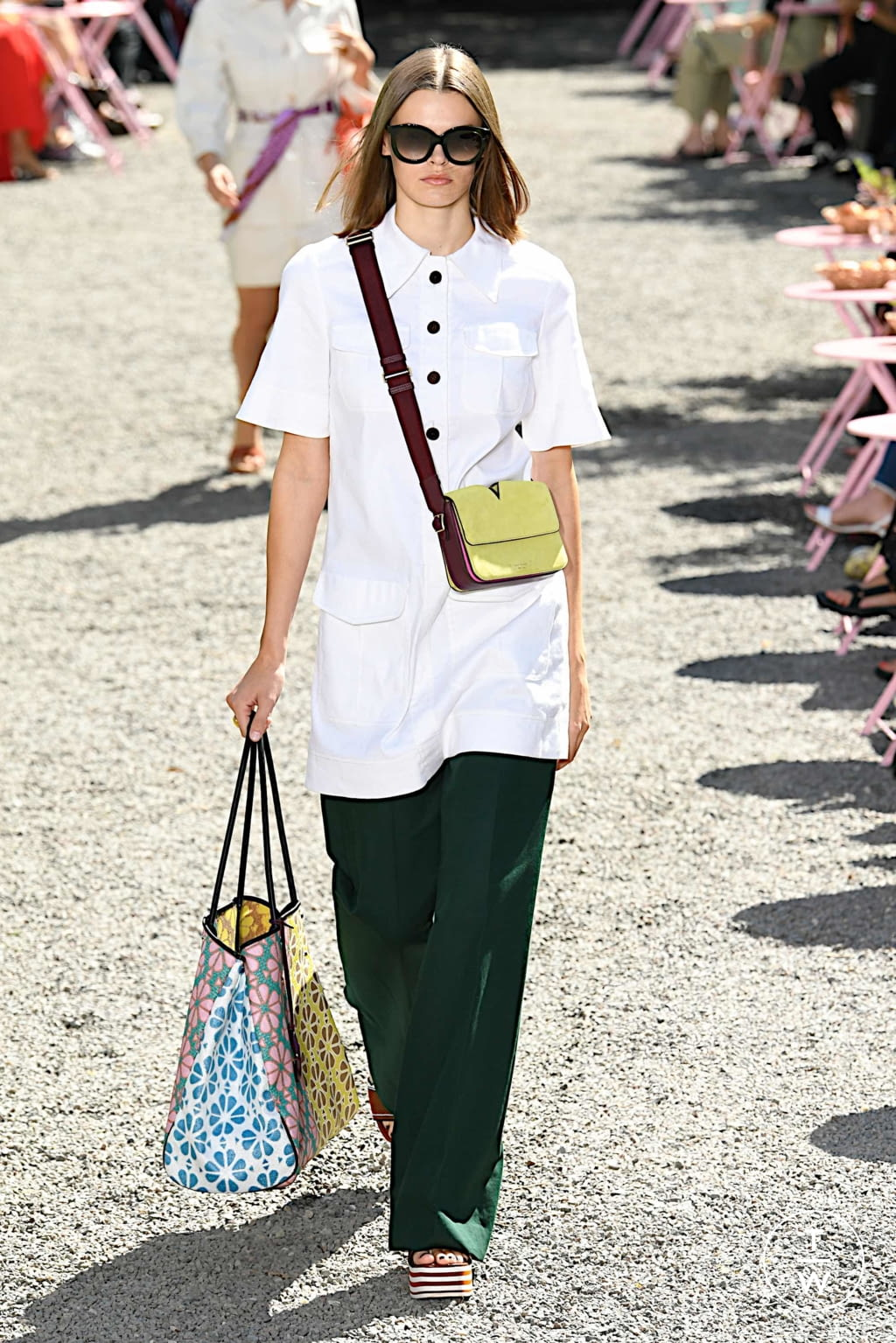 Fashion Week New York Spring/Summer 2020 look 6 from the Kate Spade New York collection womenswear